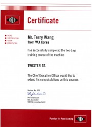certificate 8